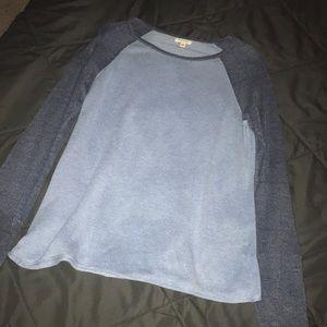 Baseball Tee Sweater
